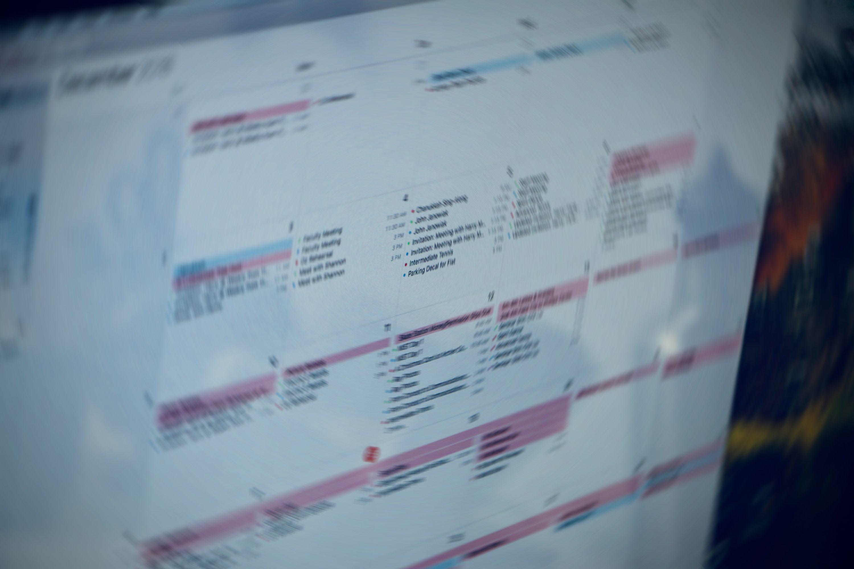 Calendars & Room Reservation Info
