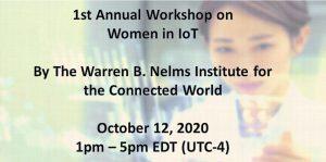 Women in IoT Workshop October 2020